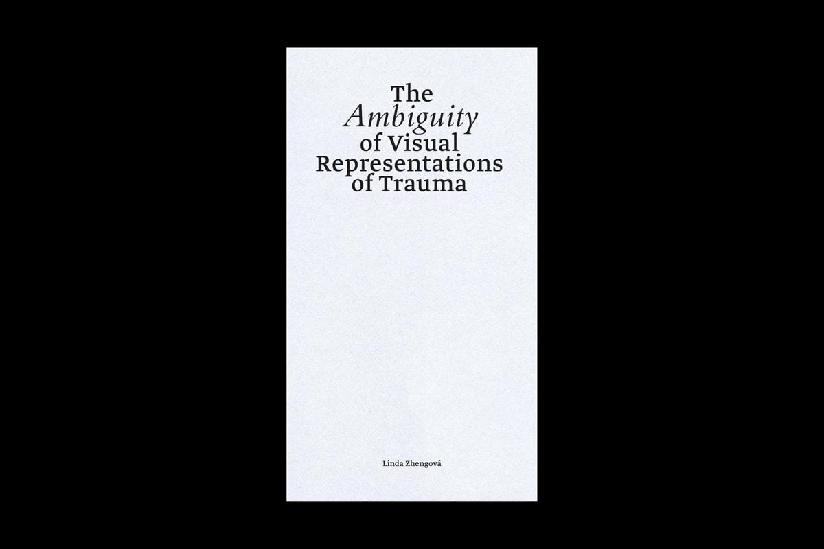 The Ambiguity of Visual Representations of Trauma — Linda Zhengová, 2020