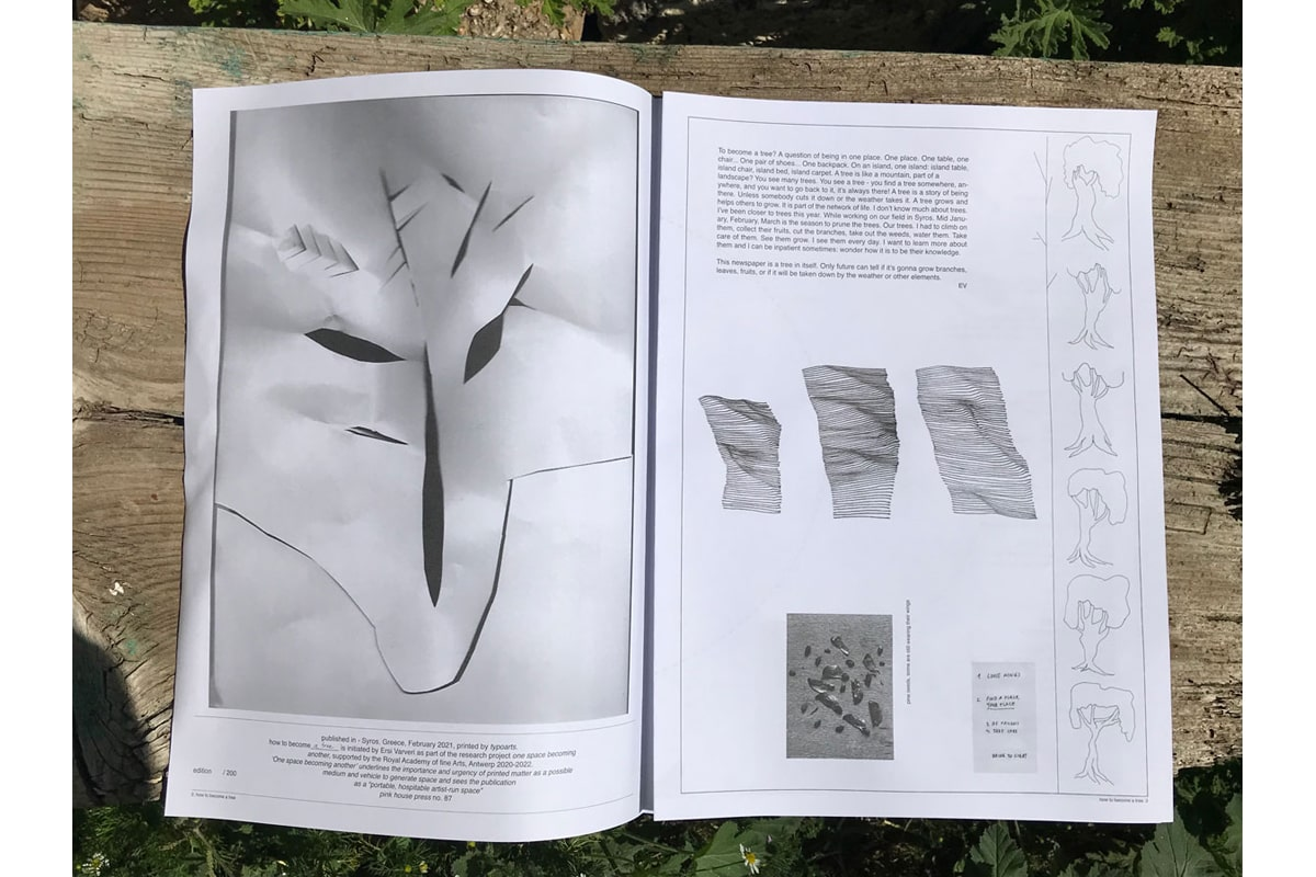 how to become a tree — Ersi Varveri, 2021